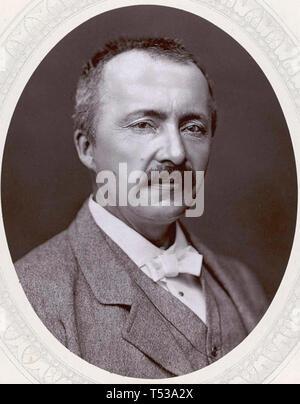 HEINRICH SCHLIEMANN (1822-1890) archeologo tedesco Immagini Stock