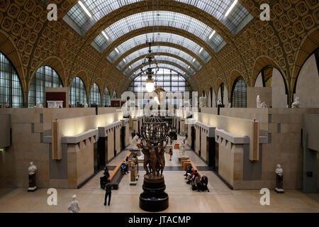Il Museo d' Orsay (Musee d'Orsay), Parigi, Francia, Europa Immagini Stock