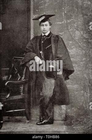 Albert Edward, Principe di Galles, India, Asia Immagini Stock