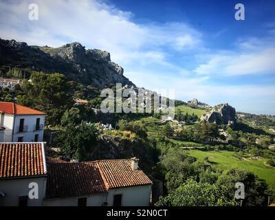 Grazalema, Andalusia, Spagna Immagini Stock