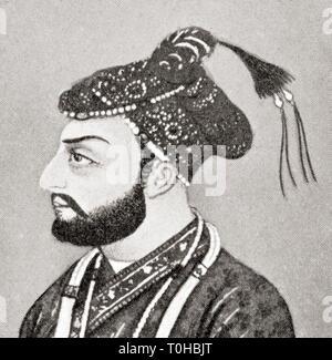 Vintage Farrukhsiyar foto Immagini Stock
