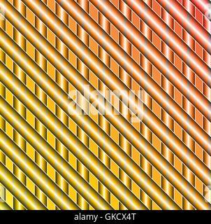 Vettore illustrazione astratta splash colore sfondo incandescente Immagini Stock