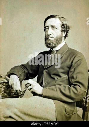 ARTHUR WELLESLEY, secondo duca di Wellington, (1807-1884) soldato britannico e uomo politico Immagini Stock