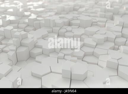 Abstract 3D sfondo - 3D illustrazione Immagini Stock