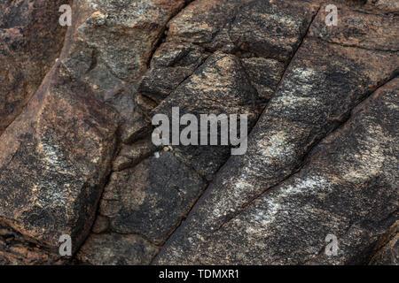 Le pietre di consistenza e di sfondo. Texture di roccia Immagini Stock
