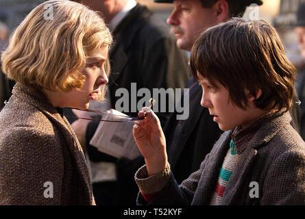 HUGO 2011 Paramount Pictures film con Asa Butterfield e Chloë Grace Moretz Immagini Stock