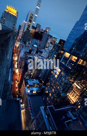 New York cityscape Immagini Stock