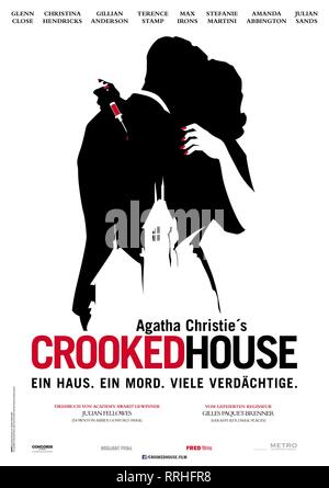 CROOKED HOUSE, POSTER, 2017 Immagini Stock