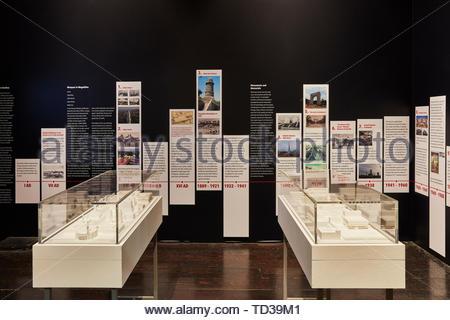 Installazione di architettura somala (vari designer) per la Somalia. London Design Biennale 2018, Londra, Regno Unito. Architetto: Vari , 2019. Immagini Stock