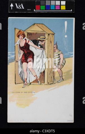 La cura degli effetti. Europa, 19th del XX secolo Immagini Stock