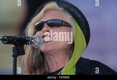 DEBBIE HARRY cantante americana nel giugno 1999. Photo: Jeffrey Mayer Immagini Stock