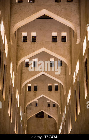Falcon souk, Souk Waqif, Doha, Qatar Immagini Stock
