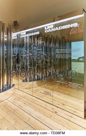 Installazione di Bruce Mau Design per il Canada. London Design Biennale 2018, Londra, Regno Unito. Architetto: Vari , 2019. Immagini Stock