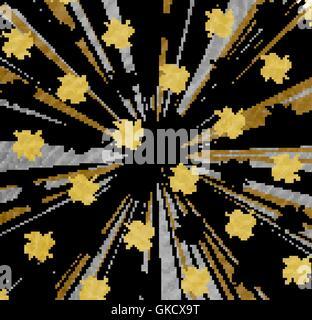 Luminose grunge textured background. Illustrazione astratta. Immagini Stock