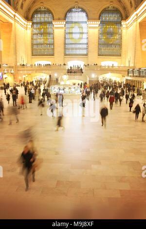 La Grand Central Station, New York Immagini Stock