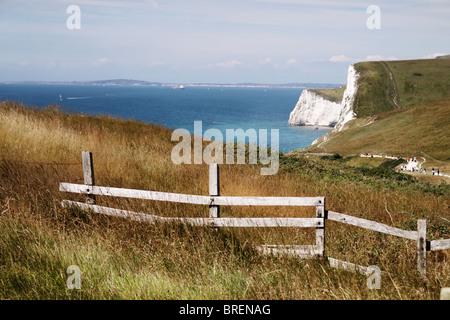 La costa del Dorset,l'Inghilterra,UK Immagini Stock