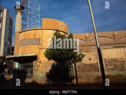 Vecchio filmato chiuso teatro dal british times, Stato di Khartoum, Khartoum, Sudan Immagini Stock