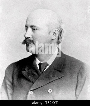 HUBERT PARRY (1848-1918), compositore inglese Immagini Stock