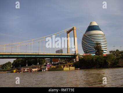 Corinthia Hotel sul fiume Nilo, Stato di Khartoum, Khartoum, Sudan Immagini Stock