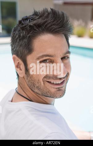 Uomo che sorride Immagini Stock