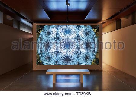 Installazione da Lilwah Al Hamoud per Arabia Saudita. London Design Biennale 2018, Londra, Regno Unito. Architetto: Vari , 2019. Immagini Stock
