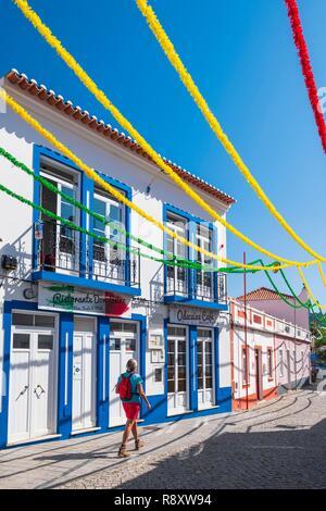 Il Portogallo, regione di Algarve, Southwest Alentejano e Costa Vicentina parco naturale, Odeceixe sul sentiero escursionistico Rota Vicentina Immagini Stock
