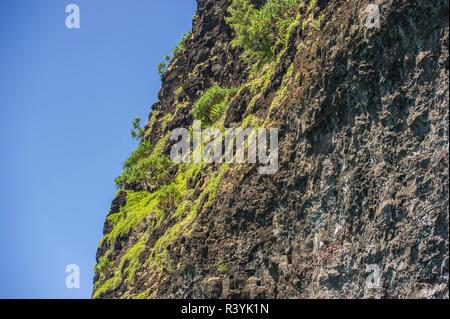 Hawaii, Kauai, Napali, Costa Napali parco statale, pacifico, cliff Immagini Stock