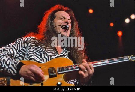 TED NUGENT rock americano musicista nel marzo 2000. Photo: Jeffrey Mayer Immagini Stock