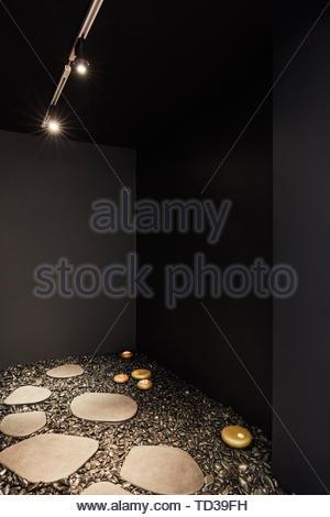 Installazione da KASA per Panasonic Design. London Design Biennale 2018, Londra, Regno Unito. Architetto: Vari , 2019. Immagini Stock