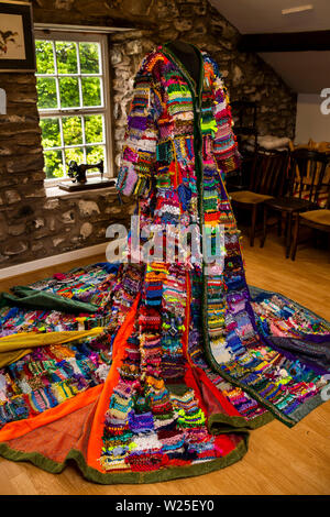 Regno Unito, Cumbria, York, Farfield Mill, Dreamcoat, progetto comunitario coinvolgendo 500 scuola gli studenti coordinati da Artsense e ragtag Community Arts Immagini Stock