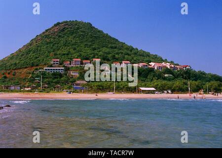 Rushikonda beach, Visakhapatnam, Andhra Pradesh, India, Asia Immagini Stock