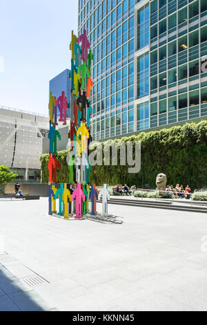 Moderno e architettura storica, il centro cittadino di San Francisco, California, Stati Uniti d'America Immagini Stock