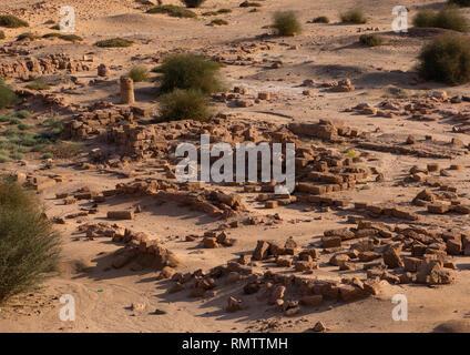 Amon tempio a Gebel Barkal, Stato settentrionale, Karima, Sudan Immagini Stock