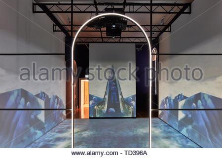 L'installazione dalla Gujral Foundation per l'India. London Design Biennale 2018, Londra, Regno Unito. Architetto: Vari , 2019. Immagini Stock