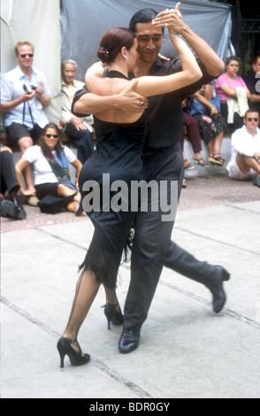La Nazionale di Danza,TANGO ,AL FRESCO è popolare di intrattenimento gratuito a BUENOS AIRES, Argentina, SUD Immagini Stock