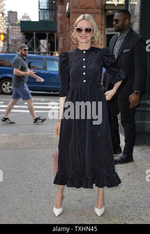New York, NY, STATI UNITI D'AMERICA. Il 24 giugno 2019. Naomi Watts fuori e circa per celebrità Candids - MON, New York, NY Giugno 24, 2019. Credito: Kristin Callahan/Everett raccolta/Alamy Live News Immagini Stock