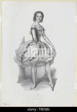 Plunkett, Marie Adeline, vissuto circa 1844, Additional-Rights-Clearance-Info-Not-Available Immagini Stock