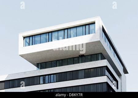 Architettura moderna, Kaiserkai, Amburgo Immagini Stock