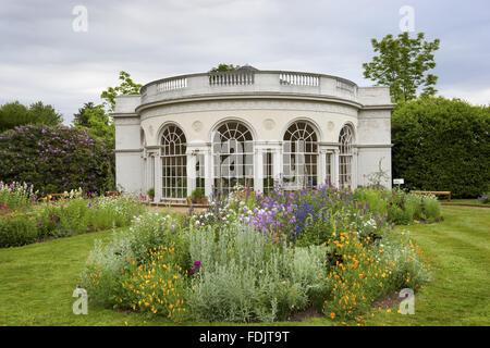 Il Garden House, costruita nel 1780 da Robert Adam, nel piacere di motivi Osterley, Middlesex. L'edificio ha Immagini Stock