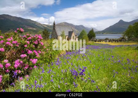 Ballachulish Chiesa, Scozia. Immagini Stock