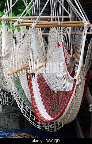 Amache colorate per vendita a Ensenada,Messico Immagini Stock