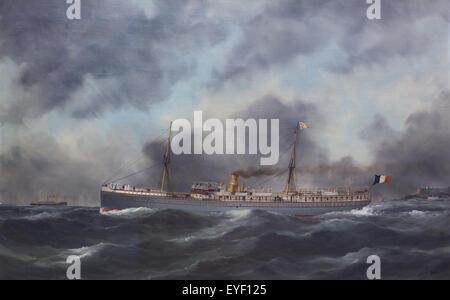 Il Paraguay liner (1888-1909) 07/12/2013 - xx secolo raccolta Immagini Stock