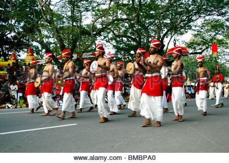 VELA KALI - la tradizionale forma D'ARTE DEL KERALA A PAGEANT Immagini Stock