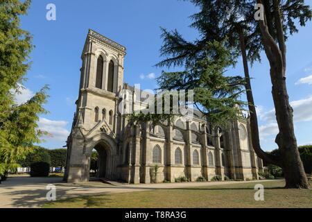 Francia, Morbihan, Pontivy, San Giuseppe Chiesa imperiale Immagini Stock