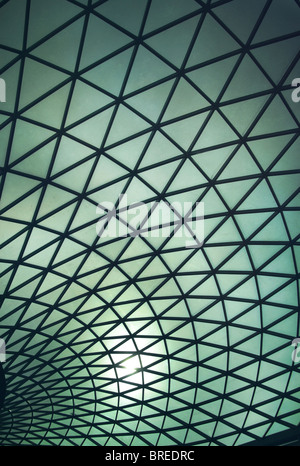 La Great Court al British Museum, Londra,l'Inghilterra,UK Immagini Stock