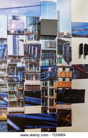 Installazione da parte di migliaia di uccelli arte Co Ltd/ Mistroom per Taiwan. London Design Biennale 2018, Londra, Regno Unito. Architetto: Vari , 2019. Immagini Stock