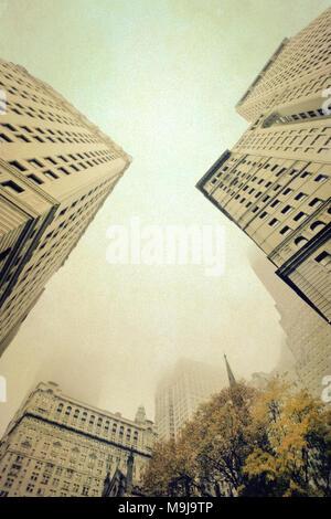 New York cercando Immagini Stock