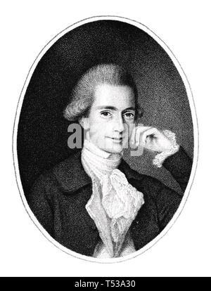 HUGH BOYD (1746-1794) saggista irlandese Immagini Stock