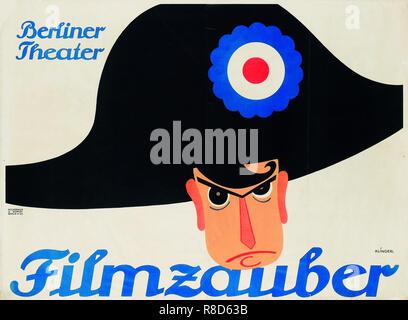 Filmzauber. Berliner Theatre, 1914. Collezione privata. Immagini Stock