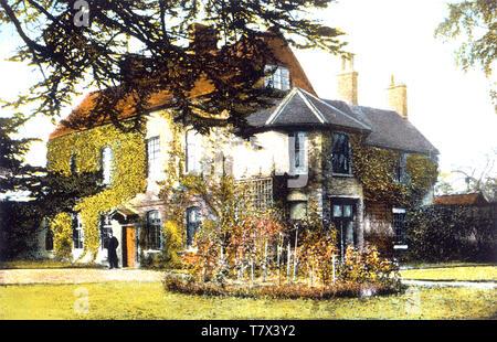 GEORGE ELIOT (1819-1880) nome della penna di autore inglese Mary Ann Evans. Griff House tra Nuneaton e Bedworth era la sua infanzia omero Immagini Stock